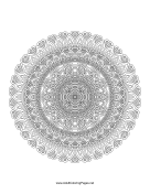 Ornate Mandala