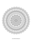 Romantic Mandala