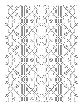 Bent coloring page