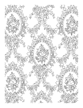 Intricacy coloring page