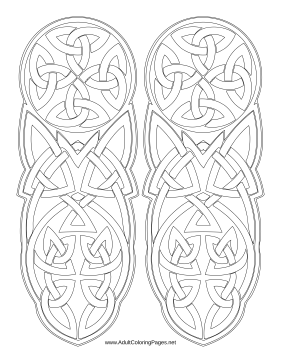 Irish coloring page