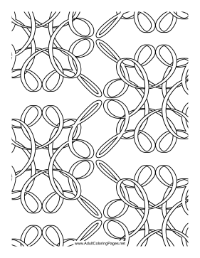 Loops coloring page