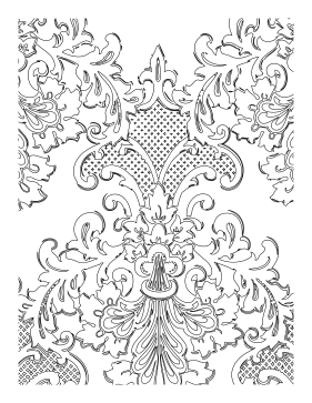 Plume coloring page