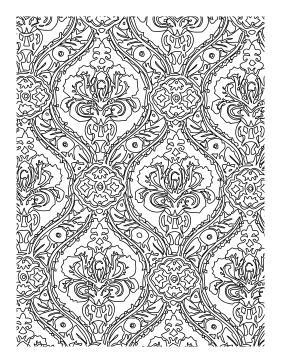 Regal coloring page