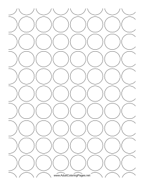 Spots coloring page