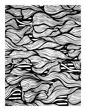 Twist coloring page