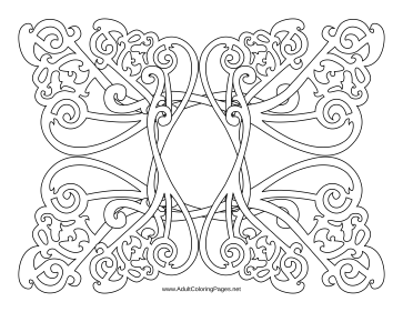Wrought coloring page