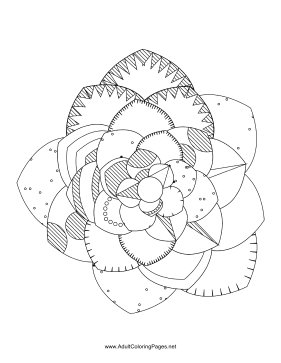 Flower-75 coloring page