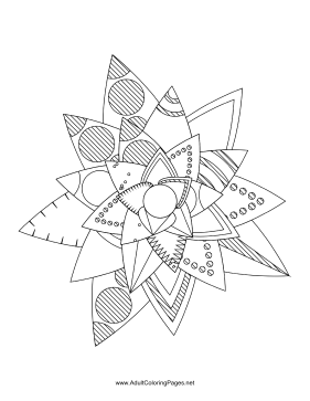 Flower-89 coloring page