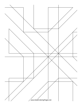 Angles coloring page