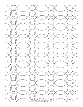 Bubbly coloring page