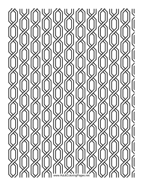 Chain coloring page