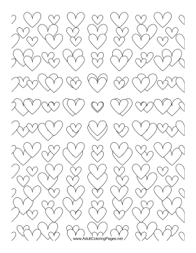 Love Tunnel coloring page