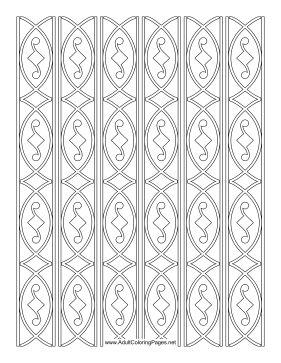 Panes coloring page
