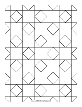Tiles coloring page