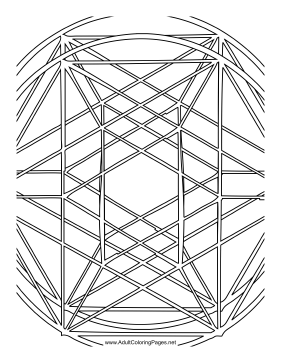 Stretch coloring page