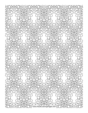 Dandelion Puffs coloring page