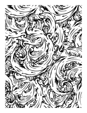 Swirl Coloring Page