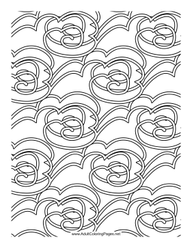 Cloudbanks coloring page