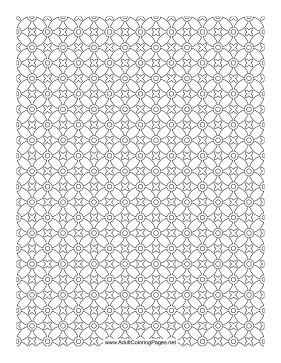 Crosshatch coloring page