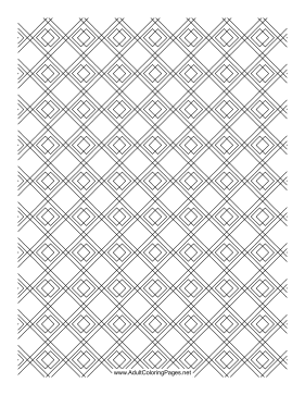 Diamond Tile coloring page