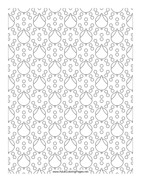 Floats coloring page