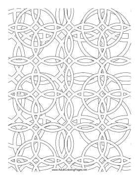 Linking coloring page