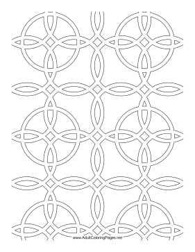 Melded coloring page