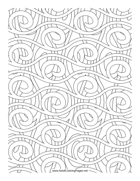 Rolling coloring page