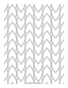 Scales coloring page