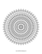 Diamond Mandala